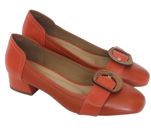 Sapato Lava com Fivelas Marrom