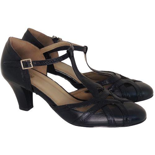 Sapato Dança Boneca Preto