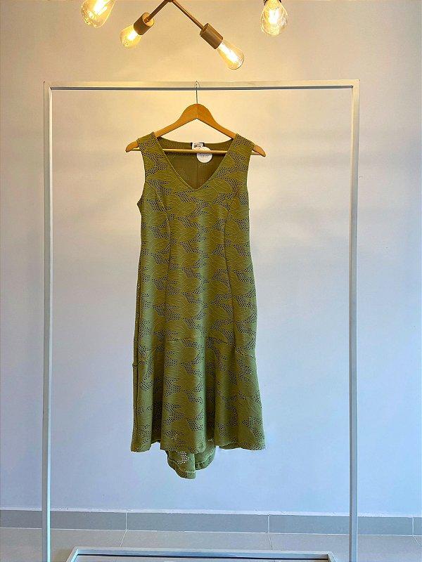 Vestido Verde Laise