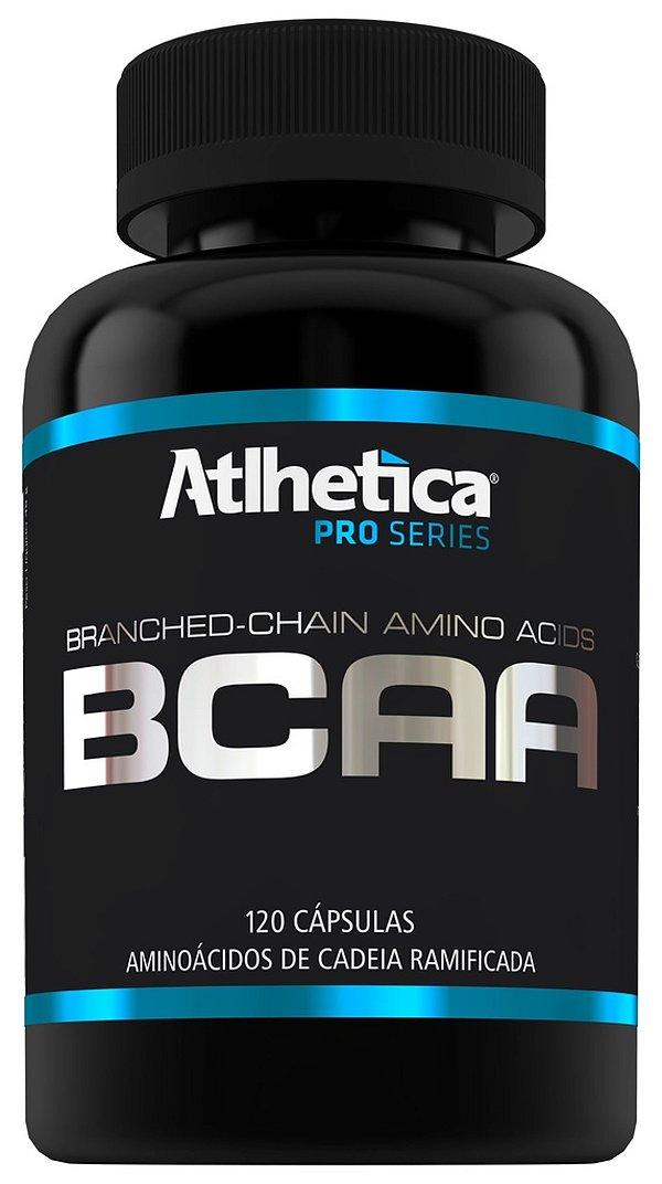 Bcaa Pro Series - 120 Cápsulas - Atlhética