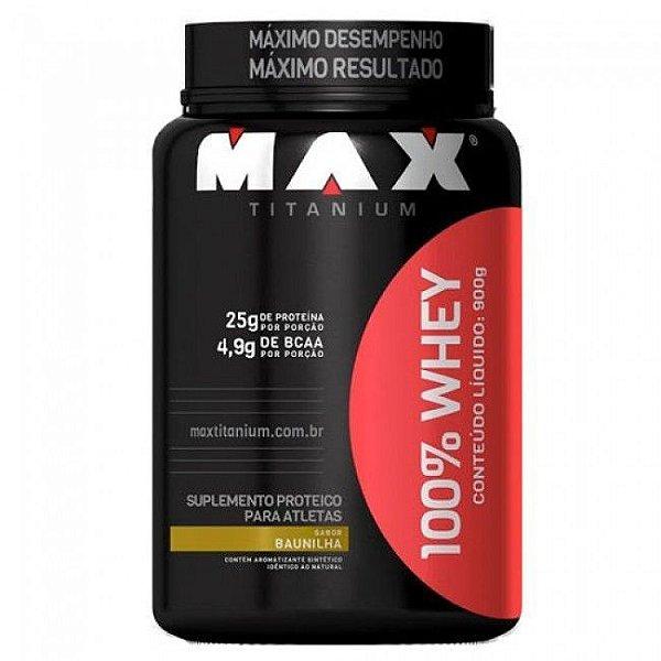 100 % Whey - 900g - Max Titanium