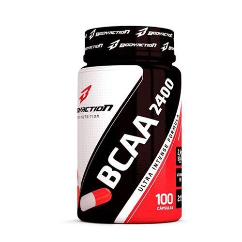 Bcaa 2400-100 capsulas-Body Action