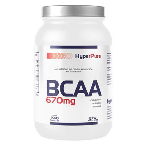 Bcaa 670mg 120 Tabletes-HyperPure
