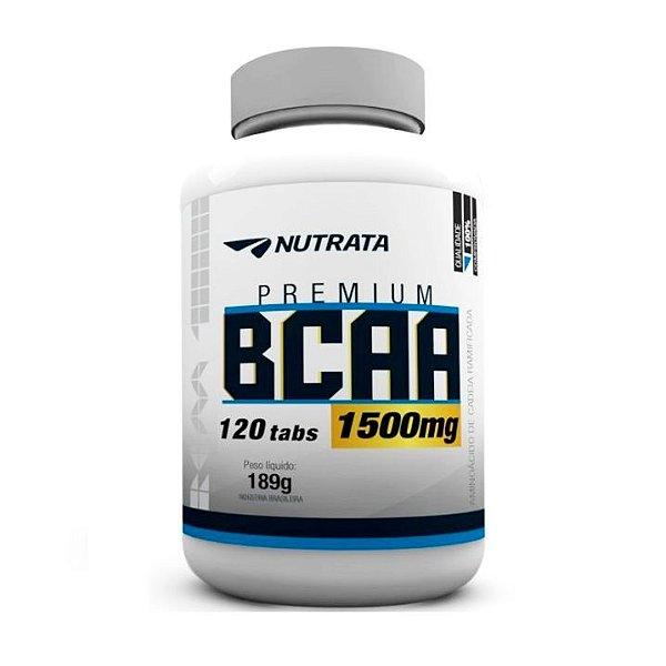 Bcaa 1500 mg - 120 tabletes - Nutrata