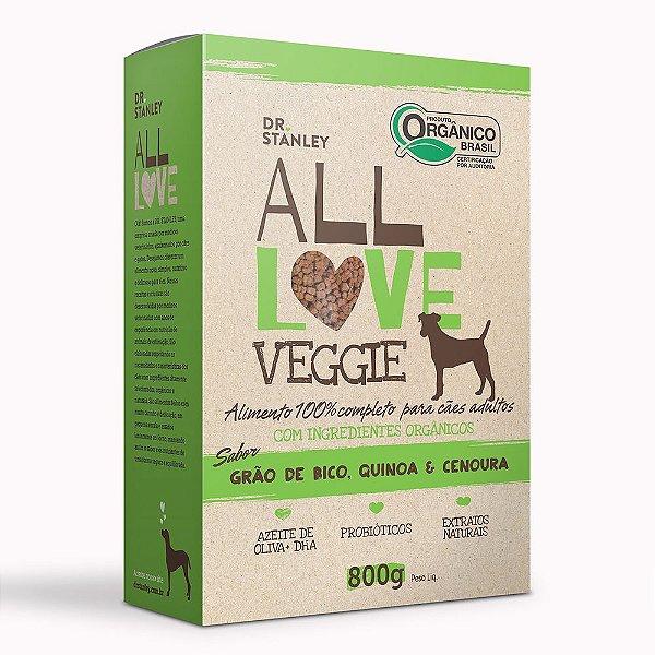 All Love - Veggie   Grão de Bico, Quinoa & Cenoura 800g