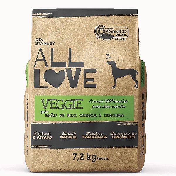All Love - Veggie   Grão de Bico, Quinoa & Cenoura 7,2 kg