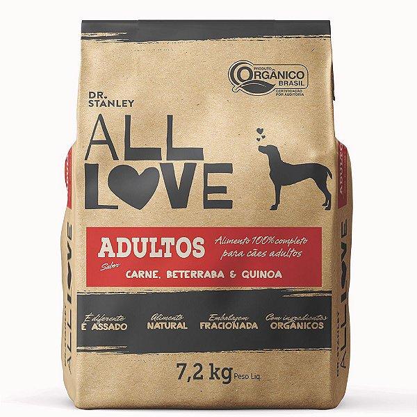 All Love - Adultos   Carne, Beterraba & Quinoa 7,2 kg