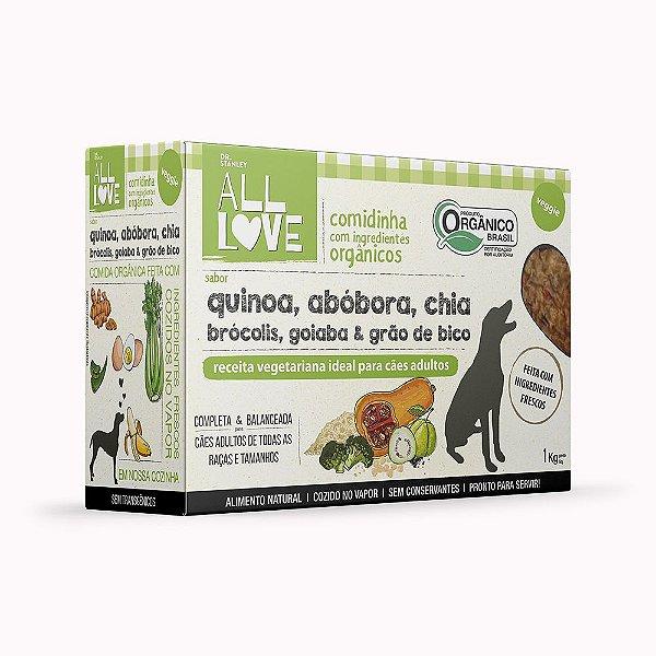 All Love | Comidinha com Ingredientes Orgânicos para cães Veggie 1kg