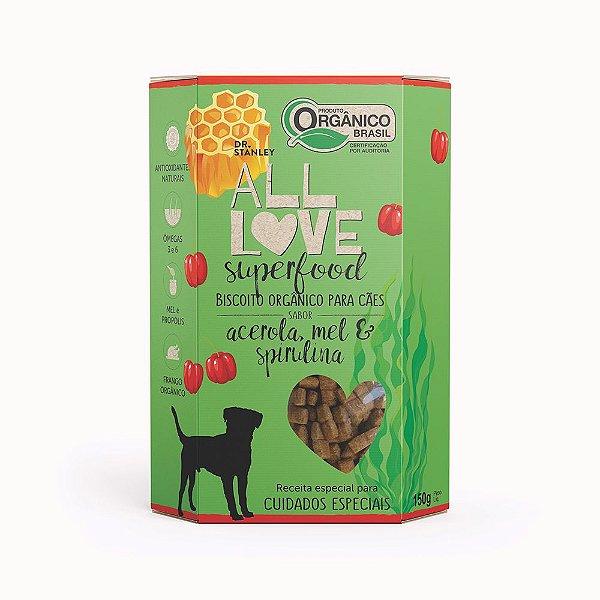All Love - Superfood   Acerola, Mel & Spirulina 150g