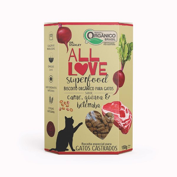 All Love - Superfood | Carne, Quinoa & Beterraba 150g