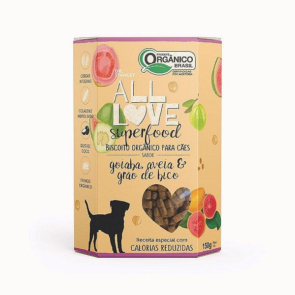 All Love - Superfood   Goiaba, Aveia & Grão de Bico 150g