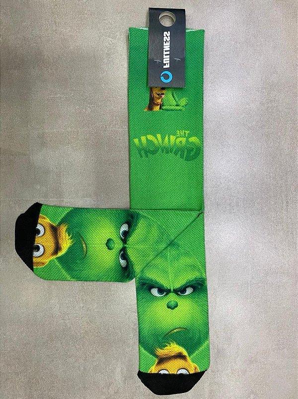 Meia Fullness Verde Grinch