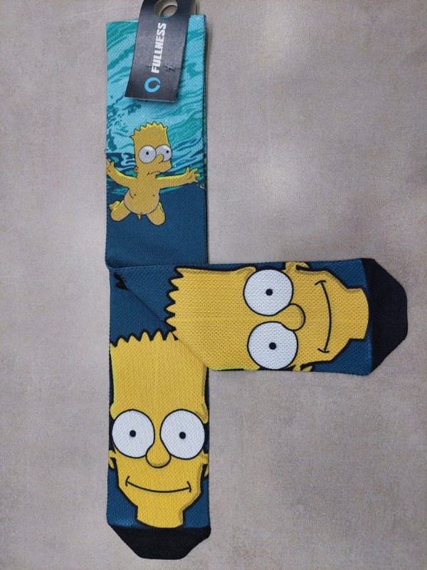 Meia Fullness Bart Simpson