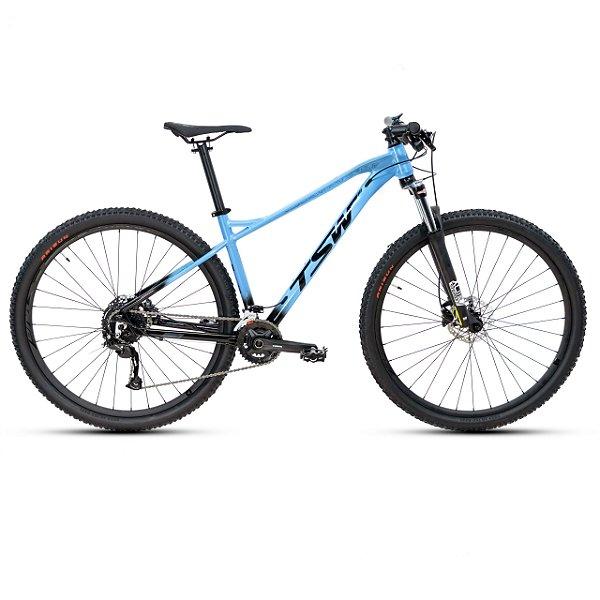 Bicicleta Aro 29 TSW Stamina 18V Azul Claro/ Pto