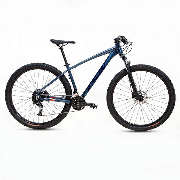 Bicicleta Alum 29 TSW Hunch Plus 27 Vel Hidraulico Azul/Preto