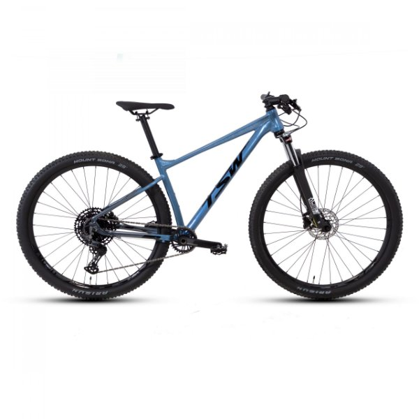 Bicicleta Aro 29 TSW Hurry SR 12V Cinza/ Azul Nac