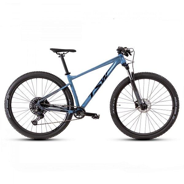 """Bicicleta Aro 29 TSW Hurry RS 12V Cinza/ Azul Nac Tamanho Quadro:19"""""""