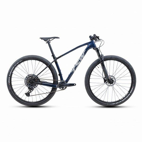 """Bicicleta Aro 29 TSW Evo Quest GX 12V Azul Metálico Nac Tamanho Quadro:19"""""""