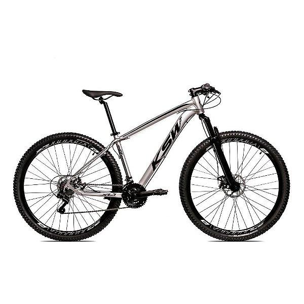 Bicicleta MTB Alum 29 KSW 24 Vel XLT Hidráulica Ltx
