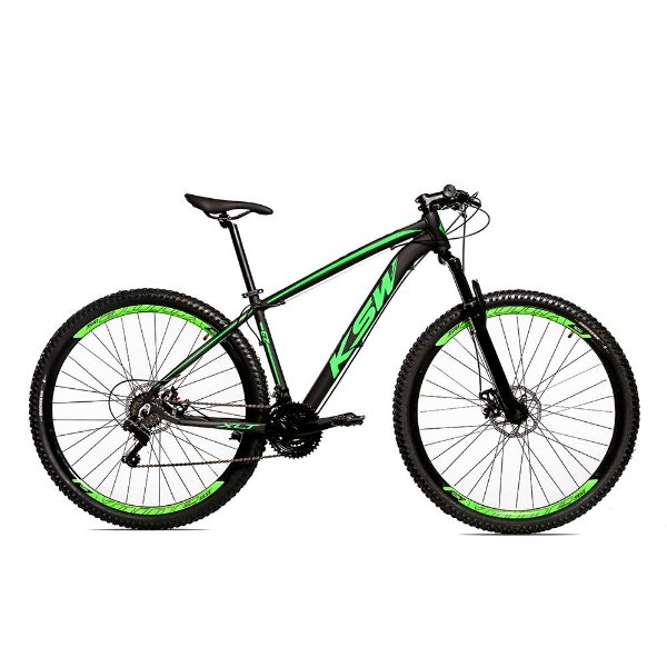 Bicicleta Alumínio 29 KSW Microshift 24 Velocidades Freio hidráulico KRWC5