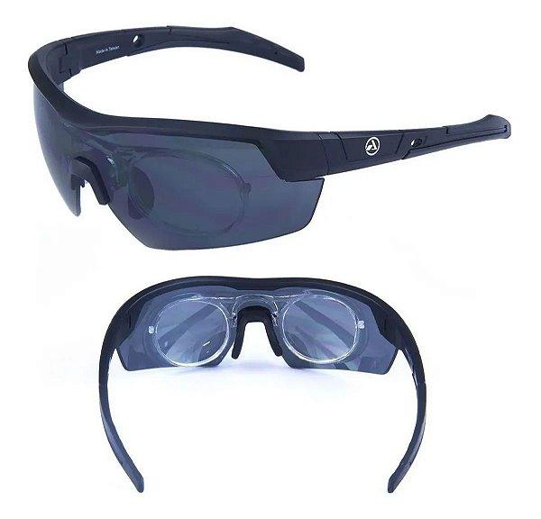 Óculos Absolute Race Rx Pto/Cinza