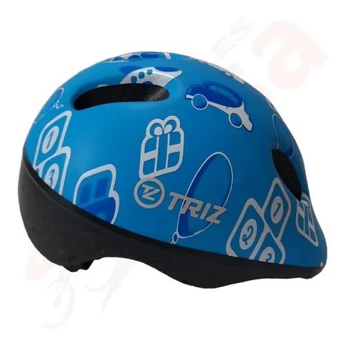 Capacete Bike Triz Baby Azul