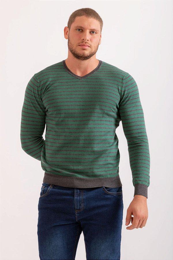Tricô John verde