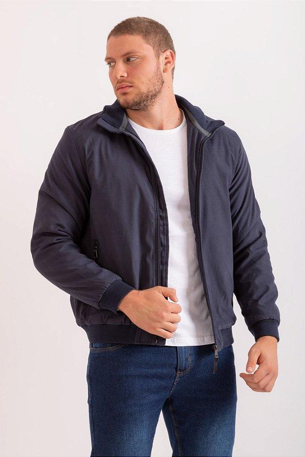 Jaqueta Tomy azul marinho