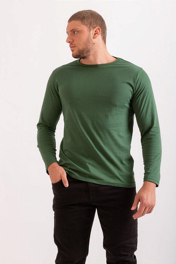 Camiseta Fábio verde militar