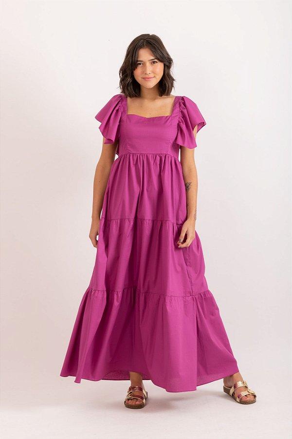 Vestido Diana roxa
