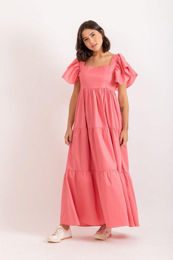 Vestido Diana rosa