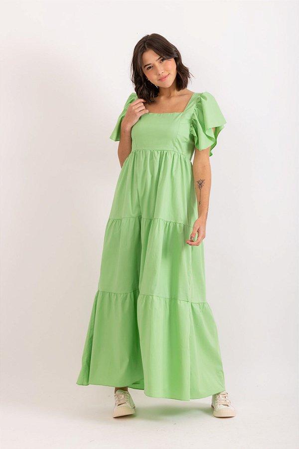 Vestido Diana verde