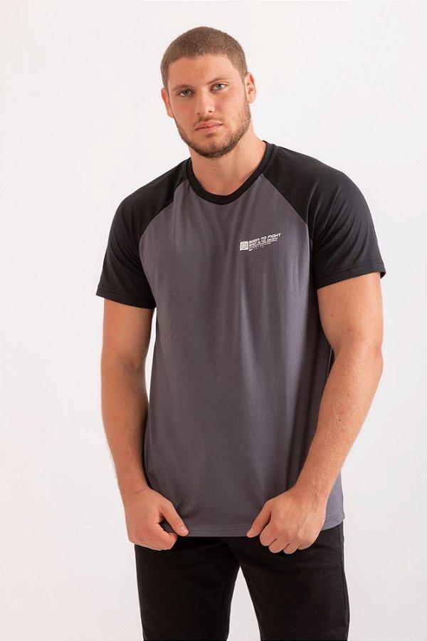 Camiseta Arthur branco c/ preto