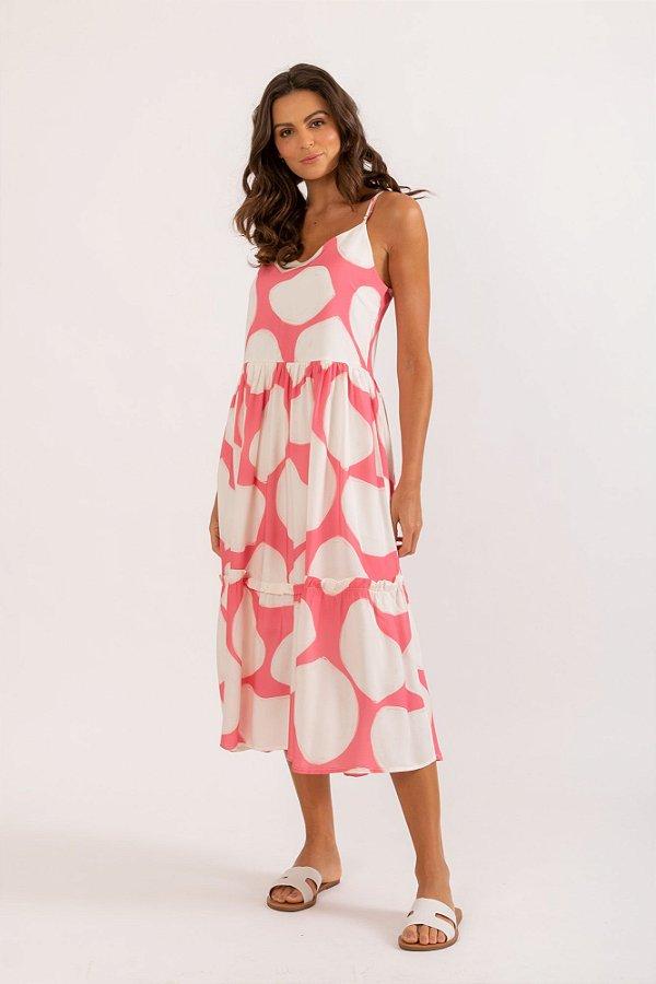 Vestido Filipa coral