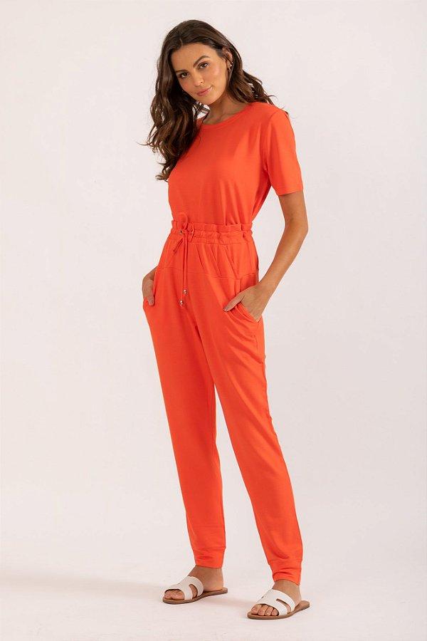 Calça Melie laranja