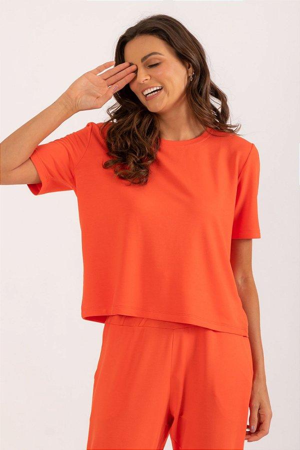 Blusa Melie laranja