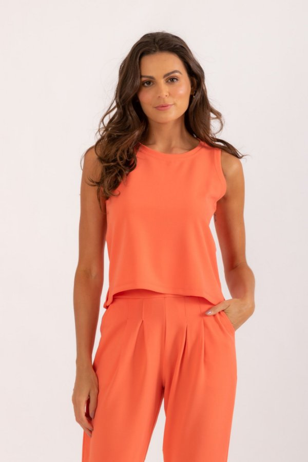 Blusa Norah laranja