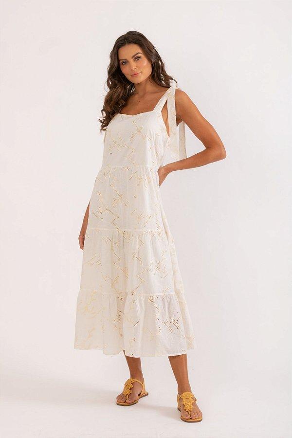 Vestido Dijon branco
