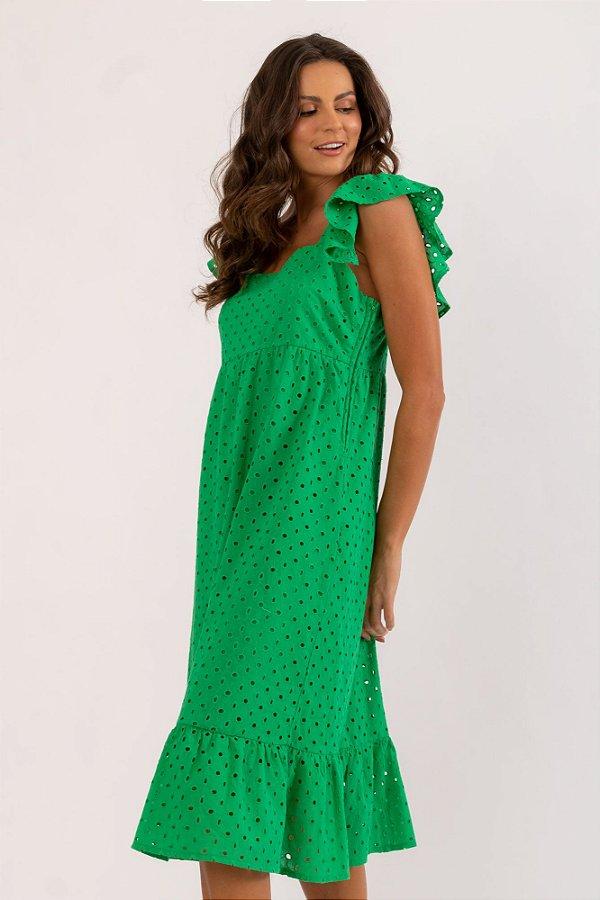 Vestido Pury verde