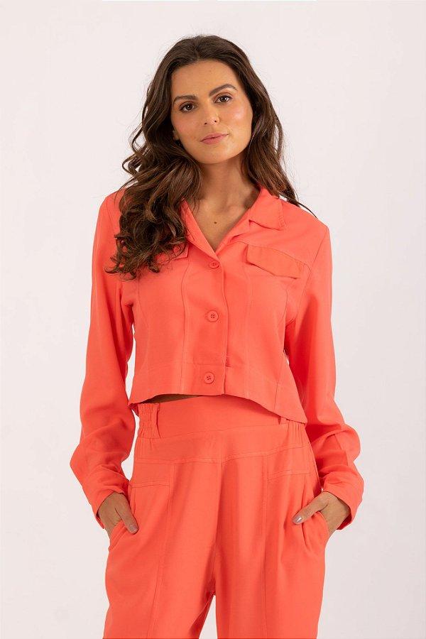 Jaqueta Ariela laranja