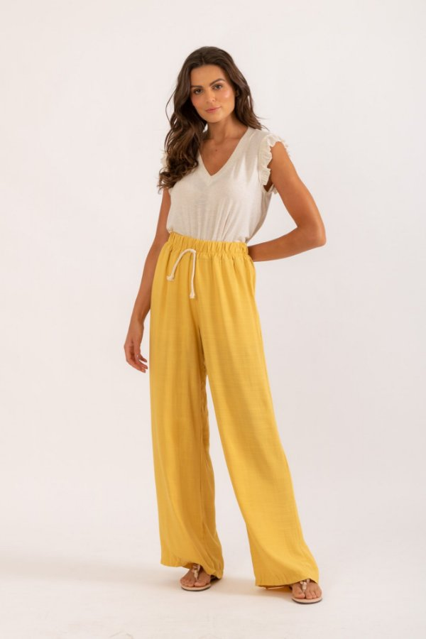 Calça Cibele amarelo