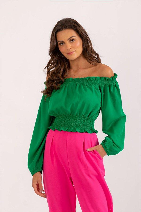 Blusa Claire verde