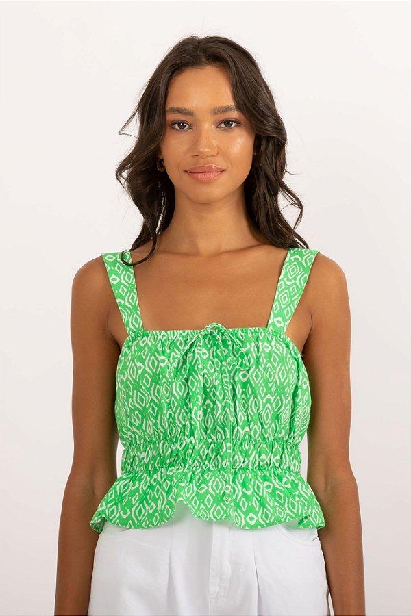 Blusa Zoya verde