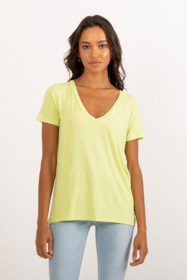 Camiseta Tata verde cítrico