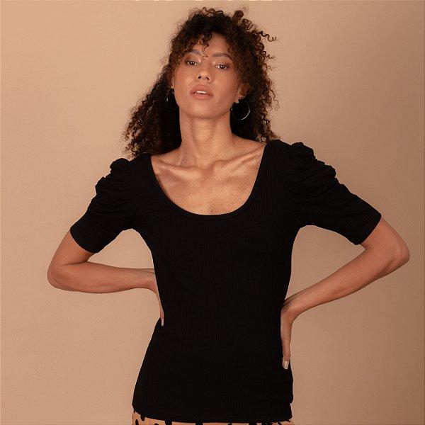 Blusa Carlota cor preta