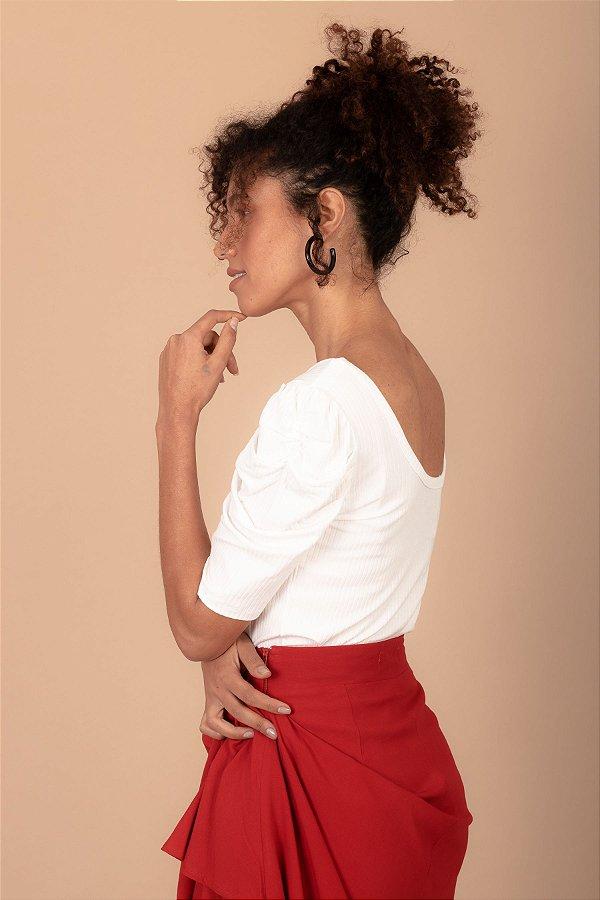 Blusa Carlota cor branca