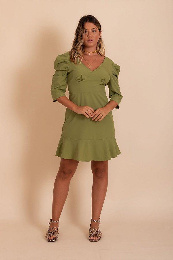 Vestido Occam cor verde