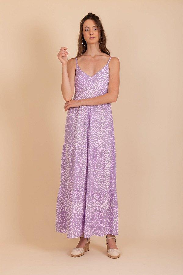 Vestido Chiara lilas