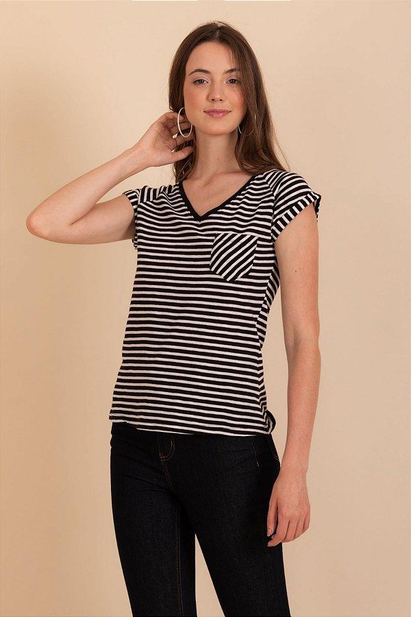 Camiseta Raya preto