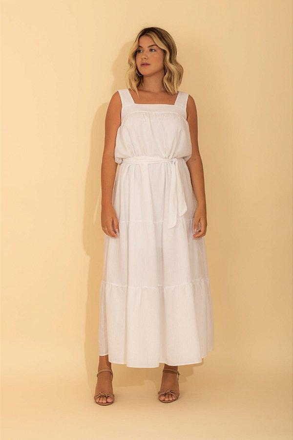 Vestido Los Roques branco